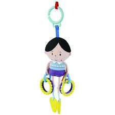 'Say Hello' Activity Rattle Friend - Blue