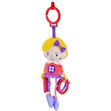 'Say Hello' Activity Rattle Friend - Red