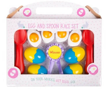Egg and Spoon Race Set