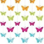 Metallic Butterflies String (1pk)