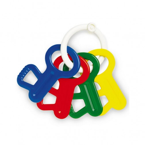 Teether Rattle Keys