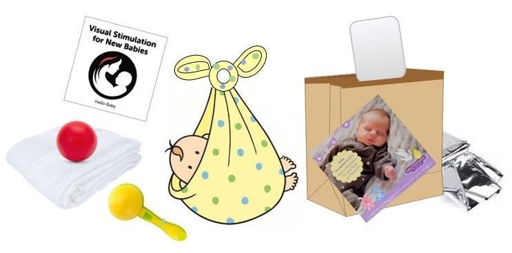 1. Hello Baby Play @ Home Essential Bundle - includes FREE 'Music for Newborns' CD!