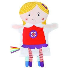 Say Hello' Friends Glove Puppet (2 Friends on one Reversible Puppet)