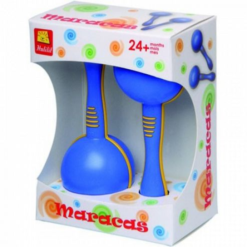 Baby Maraca (Boxed Pair) - Select Maraca Colour)