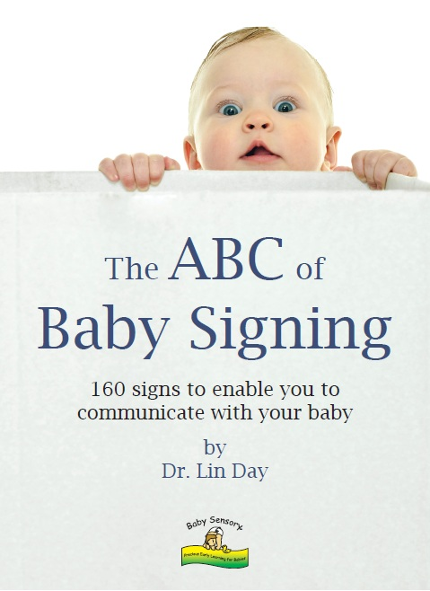 Baby Sensory 'The ABC of Baby Signing' Book