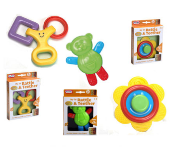 Baby Shapes Rattles and Teethers