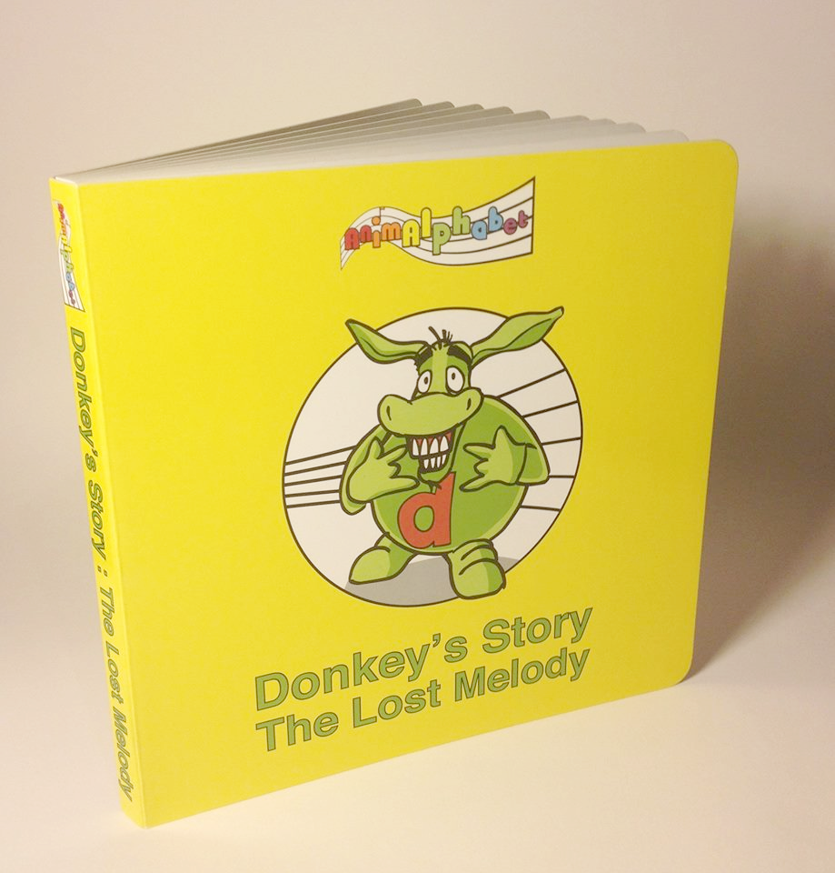 CD & Book - Donkey's Story - 40% OFF!