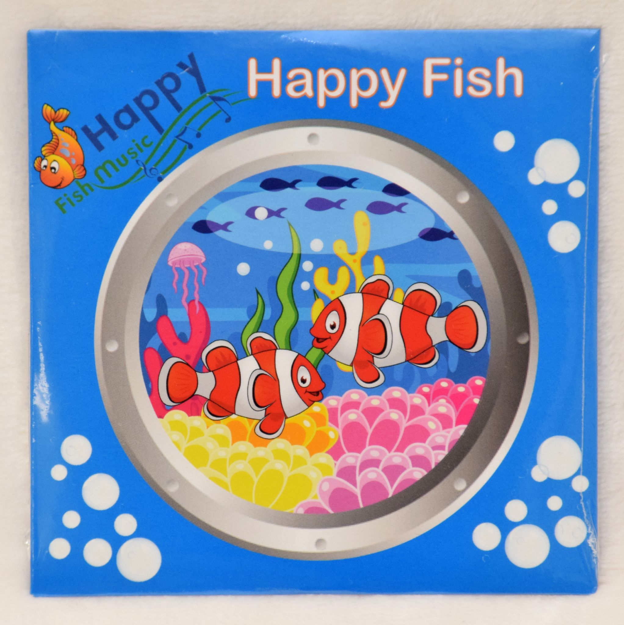 Cd Happy Fish Fun Songs Activities For Toddlers