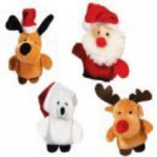 Christmas Plush Toys (Select Animal)