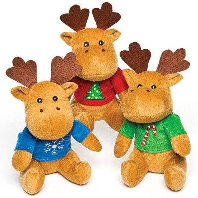Christmas Reindeer Soft Toy