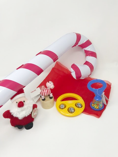 Christmas Stocking Filler Bundle (Cellophane Wrapped With A Bow