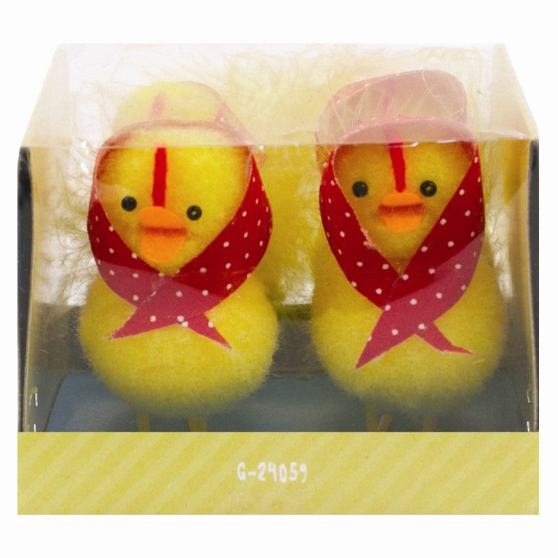 Cute Fluffy Chicks with Accessories (Pack of 4) (Adult use only)