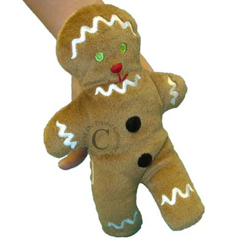 Finger Puppet - Gingerbread Man (New bigger size)