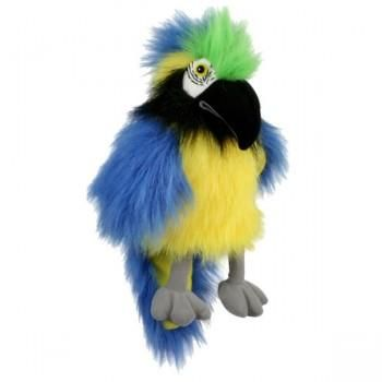 Hand Puppet - Large Macaw - Select Colour (Blue & Yellow or red & yellow))