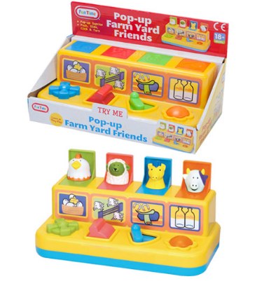 Pop-Up Farmyard Animal Friends
