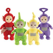 Teletubbies Talking Soft Toy Set