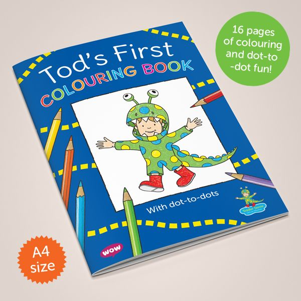 Tod's First Colouring Book